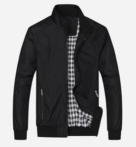 Nuevo 2017 de la chaqueta casual M-5XL 6XL 7XL Hombres de otoño del resorte prendas de vestir exteriores de la chaqueta mandarín cuello Ropa Casacos de Homem