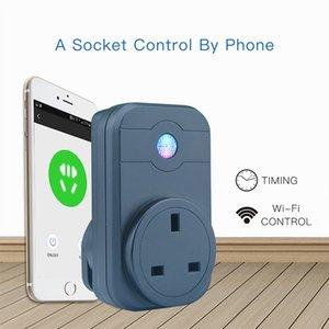 2018 новый Smart Power Plugs Wi-Fi Smart Socket США Великобритания EU standard Timing Set Alexa телефоны App пульт дистанционного управления Plug для Smart Home Automation
