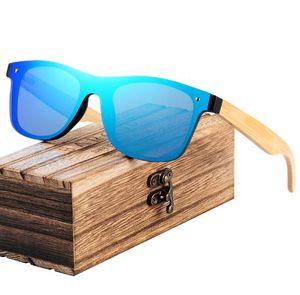 BARCUR Moda Ahşap Güneş Gözlüğü Erkekler Bambu Tapınak Güneş Gözlükleri Kadınlar Ahşap Gözlük Oculos de sol masculino