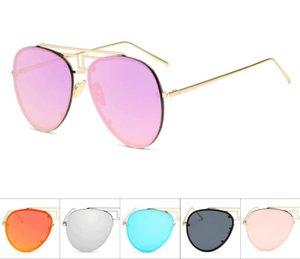 Vintage Sunglasses Linda Frameless metal eyewear eyeglasses glasses men and women retro sunglasses fashion Designer sunglasses A639