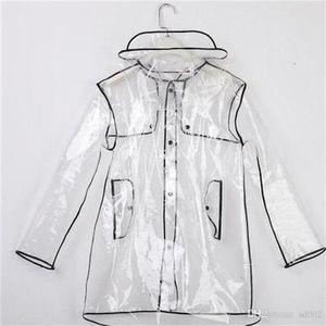 Водонепроницаемый четкий дождевик для мужчин Женщины Tide Открытый Путешествия Дождевые Куртки Высокое Качество Небольшая дождевая одежда Легкая Дизайн CARE 25 5LR2 CC