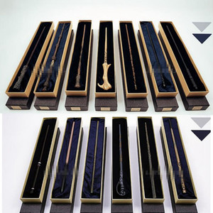 13 design Metallkern Harry Potter Zauberstab Mit Geschenkbox Kinder Zauberstab Spielzeug Harry Potter Cosplay Zauberstab KKA4851