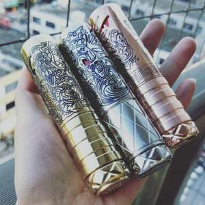 Vape Selbstmord mod Klon 20700 vape mech mod Silber Kupfer Messing elektronische Zigarette mechanische mod 2018 neues Produkt Vape Cartridges
