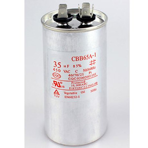 450VAC CBB65 capacitor 20 25 30 35 40 45 50 55 60 100uF for air conditioner condensor