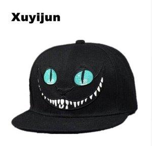 Xuyijun Alice Wonderland Cheshire Cat cartoon cappellini da baseball BUGS BUNNY SYLVESTER cappelli per uomo e donna snapback hiphop