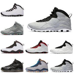 10s mens tênis de basquete Classe de 2006 Westbrook Estou de volta de aço cinza homens formadores sapatilha 10 esportes sapato tamanho 8-13