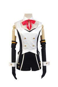 Vocaloid Hatsune Miku проект DIVA-f 2nd лука косплей костюм