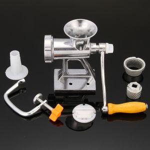 Lega di alluminio Meat Grinder Mincer Tabella manovella utensili Tritacarne Manuale per cucina Pasta strumento di pasta Cutter affettatrice manzo
