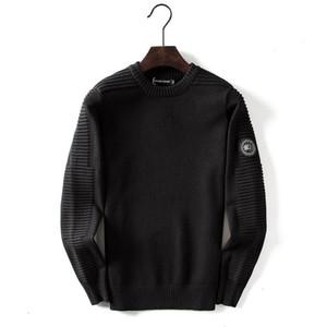 Maglione Mens design Canada casuale di marca camicia di lana solido camicetta Business Style Maglione uomo invernali