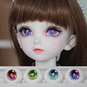 1 par de 14MM / 16MM / 18MM Ojos acrílicos para muñecas, 1/6 1/4 1/3 Ojos BJD, Accesorios para muñecas