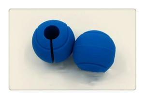 Pesas Siliconen Kettlebell Halter Wrap Thuis Gimnasio de musculación Gewichtheffen Grip Barbell Hand Bal Grips Fitnessapparatuur