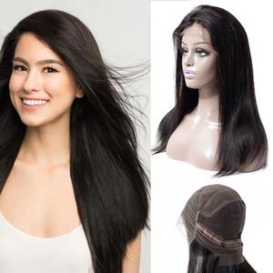 Оптовые бразильские парики из натуральных волос с бразильскими волосами Индийские бразильские прямые парики из натуральных волос