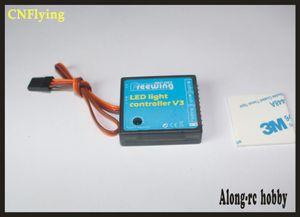 Frees shipping Freewing LED light controller V3 for Yak130 Yak-130 90mm Stinger 90mm P51 rc jet plane F18 F14 E02