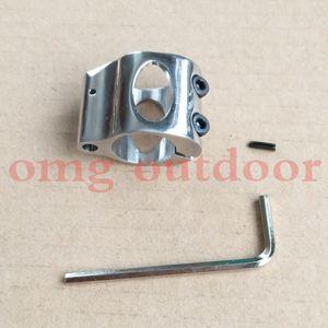 Acciaio a basso profilo Micro blocco di acciaio 0,75 pollici Gas Block