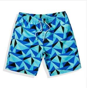 Verão marca mens troncos de natação rápida praia seca homens sportswear curto plus size masculino banho de surf boxer elástico swimwear