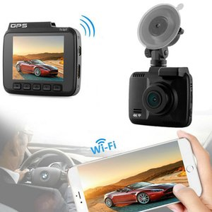 Горячая 4K автомобильный видеорегистратор мини тире CAM встроенный GPS WIFI 2160 P приборной панели автомобиля камеры лобового стекла всасывания крепление DVR ночного видения Loop Recorder Smart CCTV