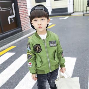 Nouveaux Arrivés Garçons Manteaux Automne Hiver Mode USA Enfants Plus Velvet Réchauffement Coton PU En Cuir Veste Pour Enfants Chaude