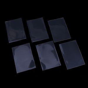 50 adet / takım Şeffaf Renk için 66 * 91mm kart kollu kart koruyucu tutucu mtg yugioh kartları kurulu oyunu