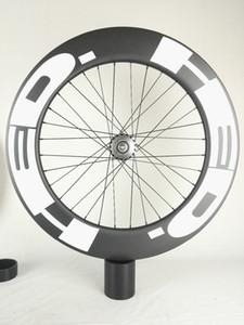 Envío libre !! HED Carbon Ruedas 90mm Clincher tubular carril bici rueda del carbón 700C 25m m ancho de vía Fixed Gear Bike