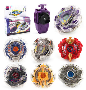 8 Stlyes New Spinning Top Beyblade BURST B-23 With Launcher And Original Box Metal Plastic Fusion 4D Gift Toys For Children