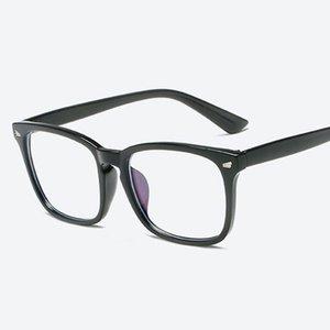 Diseñador de la marca Espectáculo Gafas ópticas Marco Buena calidad Antiradiación Gafas de ordenador Gafas marcos para mujeres hombres Oculos