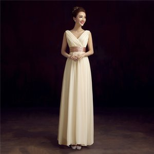the new 2018 evening dress suit the bride sister skirt bridesmaid dresses long dress