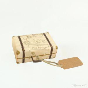 DIY Bon Cadeau Boîtes Pour Mariage Faveurs Party Cadeaux Papier Non Toxique Biscuits Wrap Valise Forme Vintage Design Décorations 0 3 wj ZZ