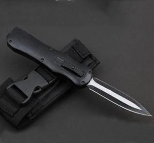 ¡Alta calidad! BM 3350 3300 Infiel Navaja de bolsillo D2 de doble filo Cuchillos de supervivencia tácticos simples Cuchillos Scarab con caja de venta al por menor