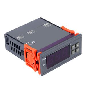 AC 90 ~ 250V 10A Цифровой термометр терморегулятор мини термостат тепловой регулятор Термопара -50 ~ 110 градусов по Цельсию с датчиком