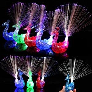 플래시 LED 라이트 업 반지 공작 손가락 가벼운 파티 가제 어린이 지능형 장난감 파티를위한 크리스마스 선물 야시장 판매