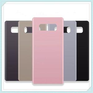 """Orijinal Yeni 6.3 """"Samsung Galaxy Not8 Not 8 Için Arka Cam Değiştirme Pil Kapağı Arka Kapı Konut Case 6 Renk + Sticker"""