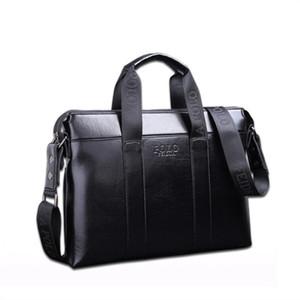2018 Известный бренд дизайнер портфель простой мужской кожаный портфель твердые большой бизнес человек сумка ноутбук сумка Сумка для мужчин