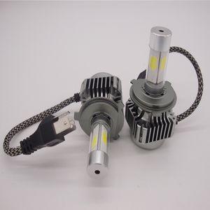 H4 H1 H7 H11 9005 9006 9007 600W 60000LM LED Autoscheinwerfer Kit Hallo / Lo Turbo Glühlampen 6000K
