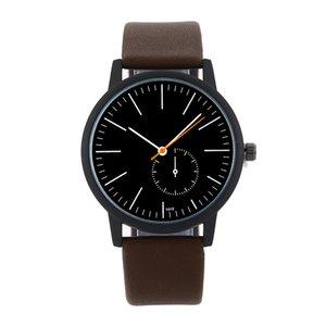 Acquisti dettati dal panico Mens Watch esercito militare superiore di modo quarzo orologio da polso cinturino in pelle Orologio Relogio Masculino