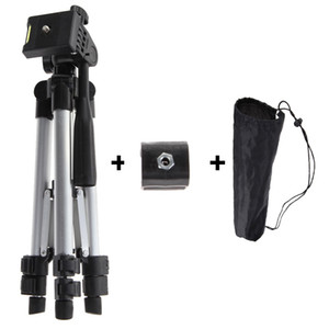 Professional Camera Tripod With Adjustable Handle Head Flashlight Clip Holder Tripod Universal For Phone DSLR Camera