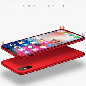 Estuche protector de TPU de silicona suave de alta calidad exclusivo para iPhone X TPU suave Cubierta de goma anti-huella digital táctil de TPU mate