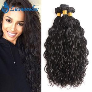 Brazilian Virgin Hair Water Wave 3 Bundles Unprocessed Brazilian Human Hair Bundles 3Pcs Lot Natural Color Dyeable Hair Extensions