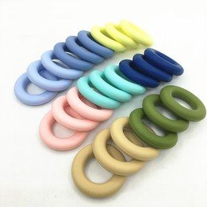 Silicone Dents dount pendentif Colliers Bijoux de dentition en silicone pour bijoux de mère Bébé à mâcher