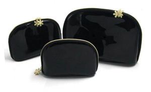 NEW ARRIVAL Women snowflake zipper elegant beauty cosmetic bag luxury makeup organizer bag designer toiletry clutch bag free shipping