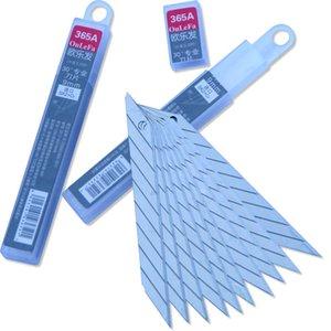 9mm Breite 30 Grad-Winkel-scharfe harte legierte Stahlblätter für Schiebe-Blatt-Messer-Kunst-Messer