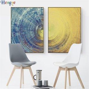 ZYXIAO Big Size Poster und Drucke abstract star sky Ölgemälde Leinwand Kein Rahmen Wandbilder für Wohnzimmer Dekoration ys0028