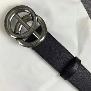 Las cinturillas de negocios de diseño de alta calidad importan realmente cuero de moda calzado de gran casco cinturones de correa para hombres con caja