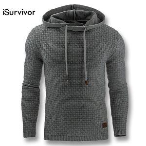 iSurvivor 2017 Homens Outono Hoodies Moletons Com Capuz Pullovers Masculino Casual Moda Slim Fitted Tamanho Grande Hoodies Hombre Outwear