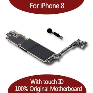 اللوحة الأم لنظام آيفون 8 64 جيجا بايت / 128 جيجا بايت مع نظام IOS لبصمات الأصابع ، اللوحة الرئيسية لأجهزة iPhone 8 Logic Board مع معرف اللمس