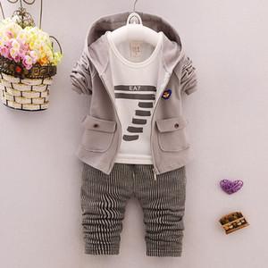 Bibicola kids baby clothing set for boys spring autumn cotton fashion boy 3 pieces set children baby casual clothes