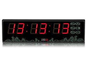 [GANXIN]1,5-дюймовый 6-значный многофункциональный таймер батарея используется светодиодный дисплей Настольные часы обратного отсчета с дистанционным управлением