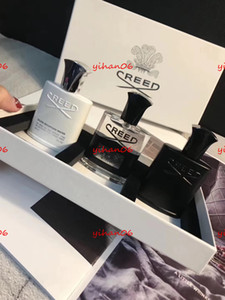 Christmas Gift Perfume By DHL New Creed aventus perfume Kit of 30ml 3 bottle with long lasting time high quality Men fragrance