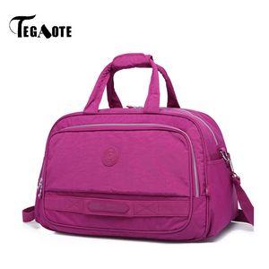 wholesale Large Capacity Women Duffle Luggage Bags Waterproof Men Nylon Travel Bag Brand Design female Casual Tote Weekend Bags
