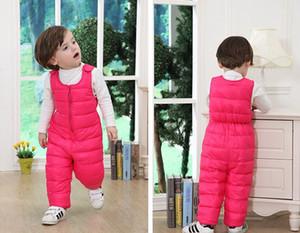 winter Kids Pants New Children's Thick Warm Boys And Girls Winter Pants Girls Boys Pants free shipping