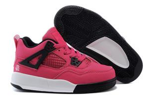 2019 Nike air Jordan 4 13 retro yeni Rebel kadınlar ve büyük boy basketbol ayakkabıları ucuz XX OG WMNS 4-13 Üst üç SIYAH KıRMıZı MAVI çocuklar spor sneakers